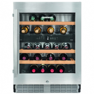 LIEBHERR UWTES1672 Built-in Wine Conditioner | Silver